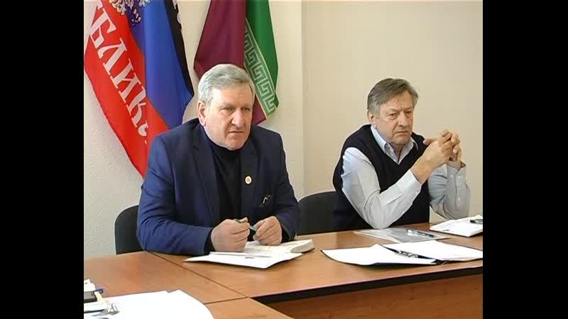 В администрации Старобешевского состоялось еженедельное аппаратное совещание