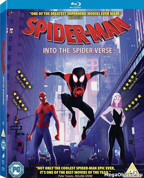 Человек-паук: Через вселенные / Spider-Man: Into the Spider-Verse (2018/BDRip/HDRip)
