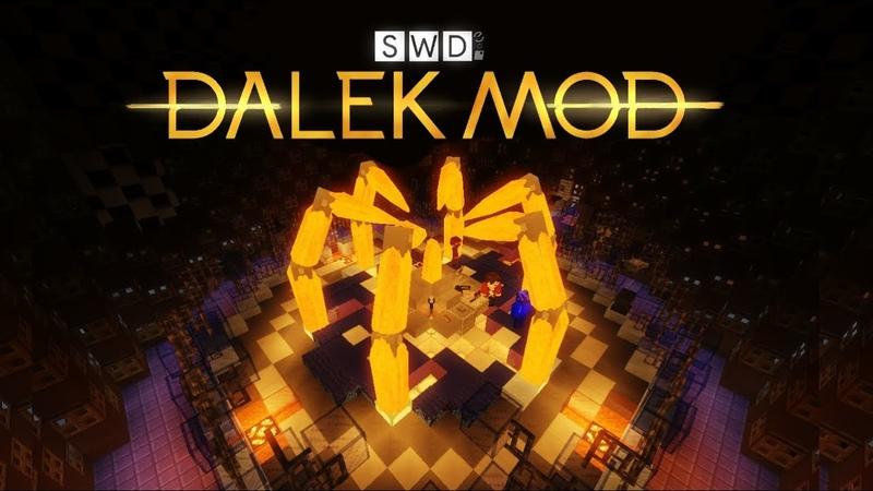 Dalek Mod Update 50 Time Travel Doctor Who minecraft adventure