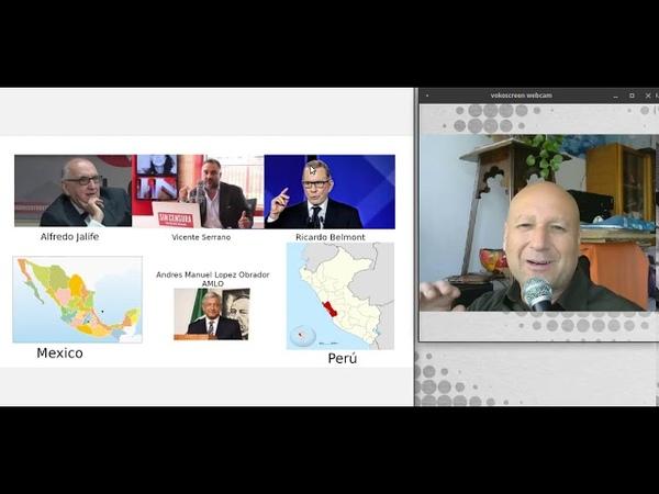 JALIFE y BELMONT juntos Perú y Mexico unidos en la 4ta Gran Transformación