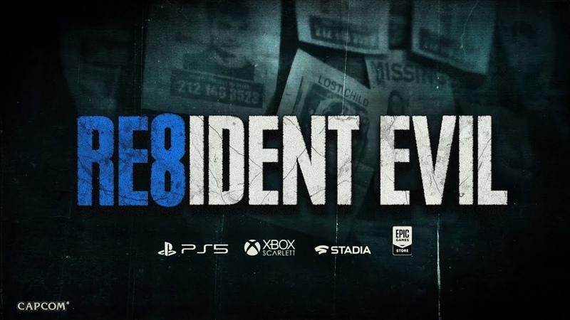 RESIDENT EVIL 8 - Reveal Trailer | PS5, STADIA, XB Scarlett PC | Concept by Captain Hishiro