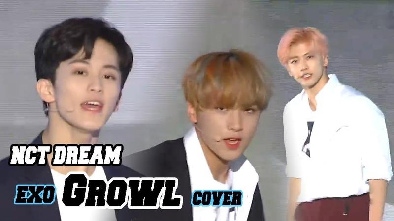 [Korean Music Wave] NCT DREAM - Growl, 엔시티 드림 - 으르렁(EXO Cover), DMC Festival 2018