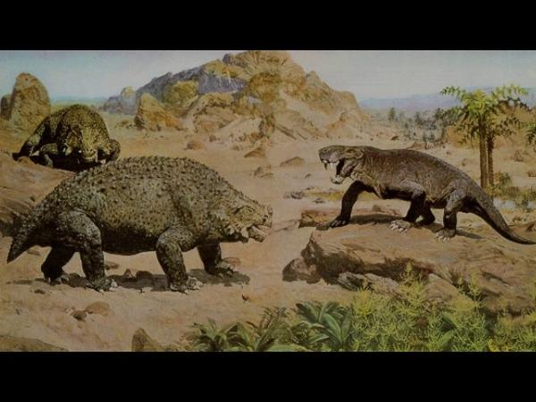 Пермский период палеозойской эры рассказывает палеонтолог Эрвин Лукшевич