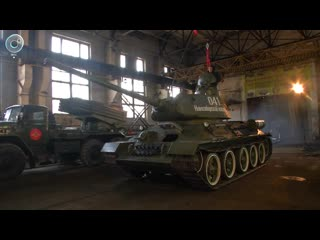 Легендарный Т-34 возглавит колонну военной техники на параде Победы