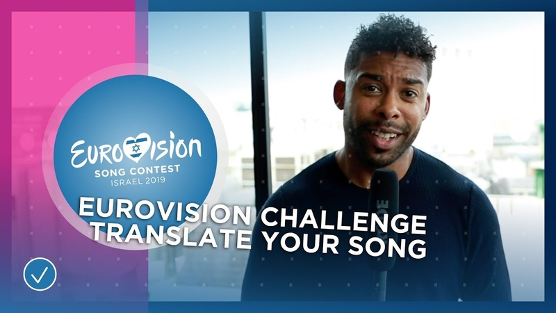 EUROVISION CHALLENGE: Sing your song in your own language