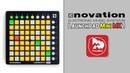 NOVATION Launchpad Mini MK2 популярный MIDI контроллер