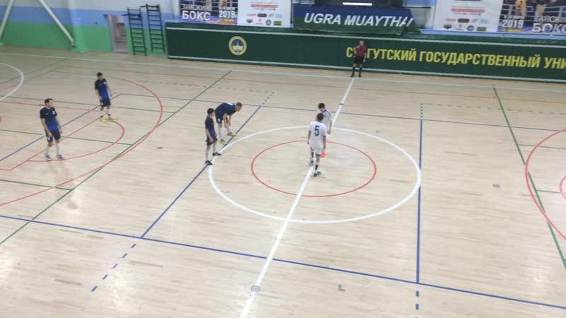 Первая Лига. Плей-офф. УПГ - Динамо-1. 2 тайм