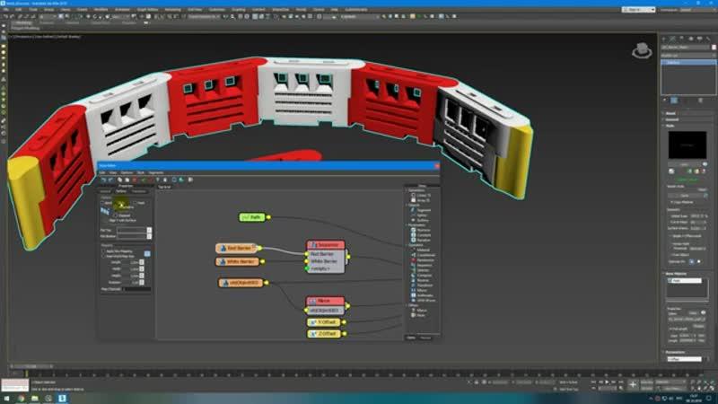 RailClone - Деформация объектов | Itoo Rail Clone Pro 3Ds Max | Уроки для начинающих