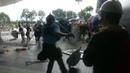 Hong-Kong violent affrontements avec la police mouvement des parapluies