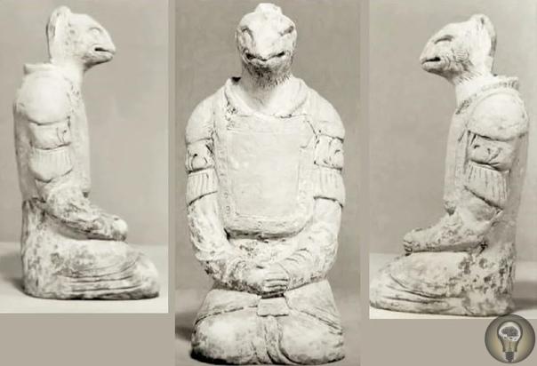 Кого изображали исчезнувшие артефакты из древнего храма