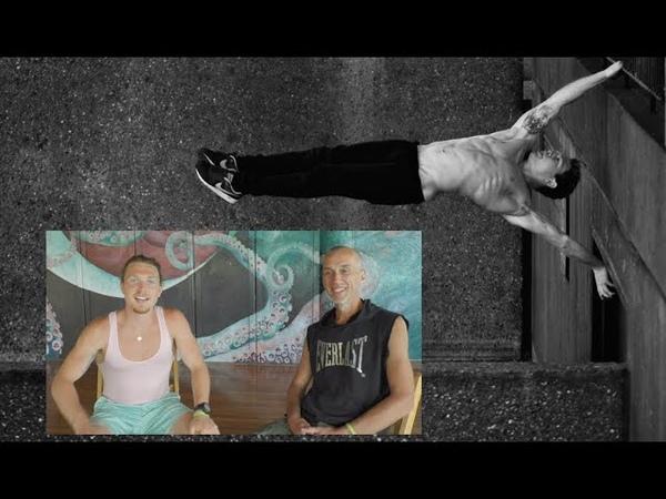 (Русская озвучка!) Тим Шифф, веган, двукратный чемпион мира по паркуру, Гавайи, апрель 2015.