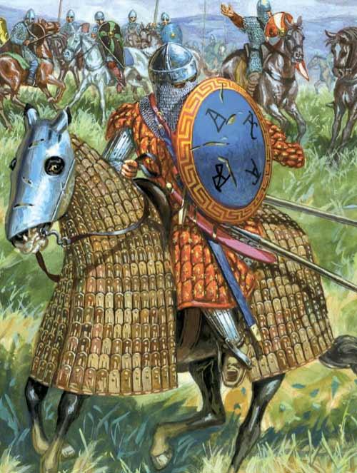 Конница византийцев