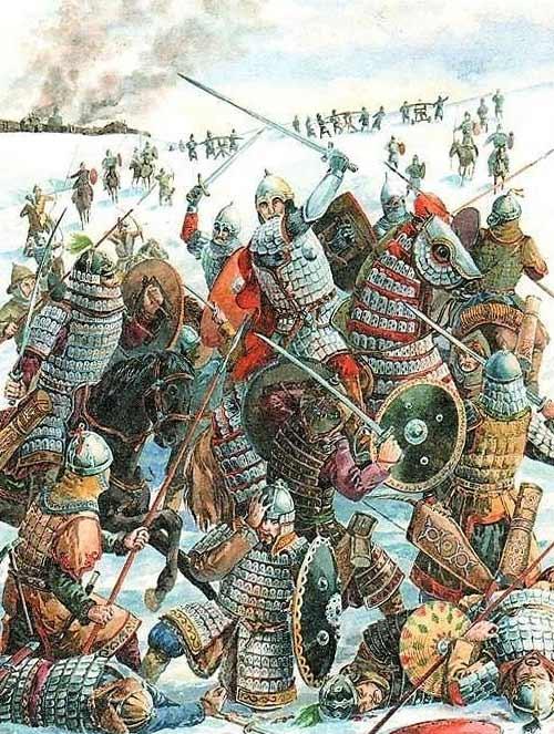 Битва русичей