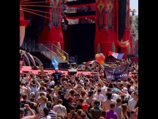Dq19 armin van buuren - turn it up (sound rush remix) live at defqon.1 festival 2019