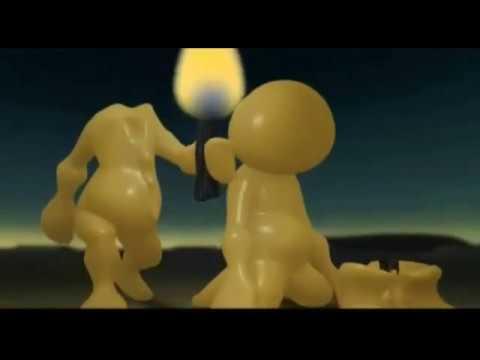 Мультфильм-притча о познании мира и себя и стихотворение Три свечи