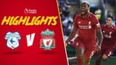 Gini's thunderous effort sees off Cardiff | Cardiff 0-2 Liverpool | Highlights