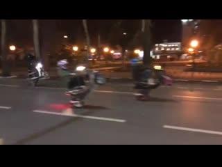 Трюки на мопедах в Новороссийске
