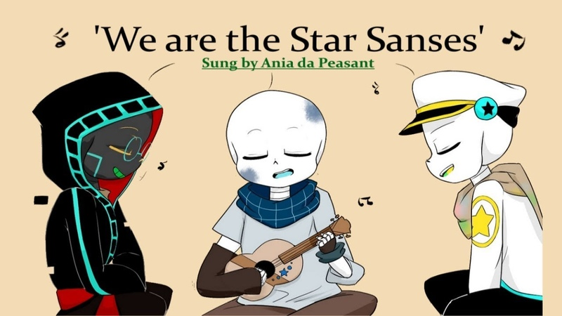 'Star Sanses ' Sung by Pallete Blueprint and Gradient