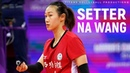BEST Volleball Actions by SETTER NA WANG 王娜 WCWC 2018