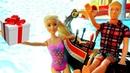 Giochi per bambini. Barbie al parco acquatico. Giocattoli educativi e nuovi episodi.