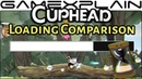 Cuphead Load Time Comparison Switch vs. Xbox One X!