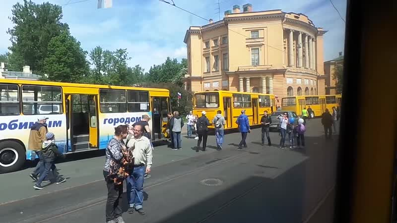 V Петербургский парад ретро-транспорта 2019 (Репортаж)