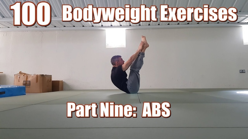 100 BODYWEIGHT EXERCISES (NO GYM REQUIRED) | ABS