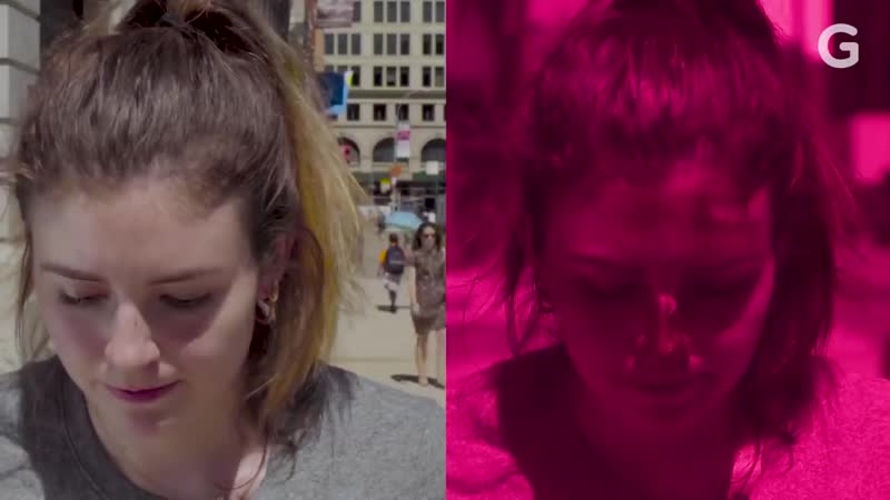 UV Camera Reveals The Best Way to Apply Sunscreen to Your Face