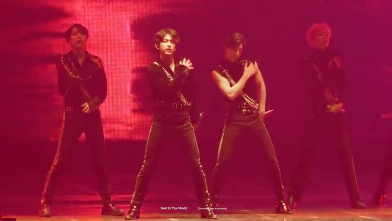 [FANCAM:TOUR] 190616 GOT7 - STOP STOP IT (remix ver.) @ Концерт «2019 World Tour: Keep Spinning» в Сеуле, Корея (День-2).