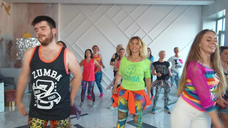 Zumba® Fitness с Татьяной Славных Crazy Love by Mara ft Beto Perez Russia SPb
