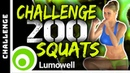 200 SQUATS CHALLENGE Lift Butt And Tone Thighs