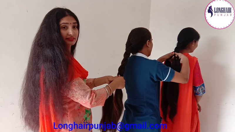 LHPB Rapunzels Names Mannu Veronica And Sunny Hair Combing And Braid Making Beautiful Hair