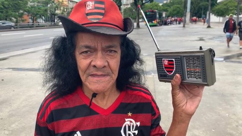 Ajudamos um torcedor Raiz do Mengão a ir pela primeira vez a um jogo fora do Rio!