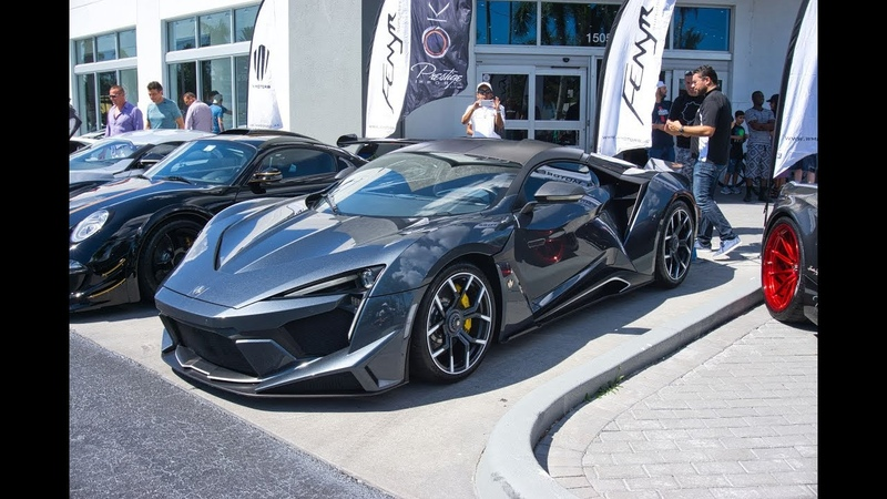The BEST Supercar Event Pagani Huayra L'ULTIMO Lykan Fenyr Supersport more Exotics and Espresso