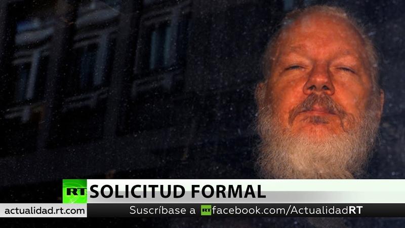 Presenta a Reino Unido una solicitud formal para la extradición de Assange