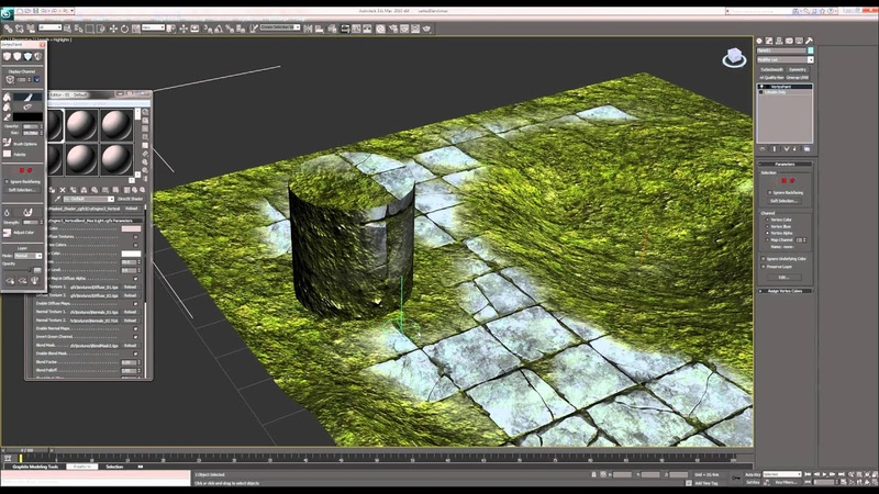 Vertex Alpha Blend Shader - 3DS Max [CryEngine 3]