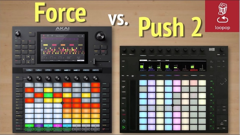 Akai Force vs Ableton Push 2 Which is better for you