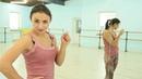 Как научиться танцевать - Учим простые танцевальные движения (Настя Каменских PELIGROSO)