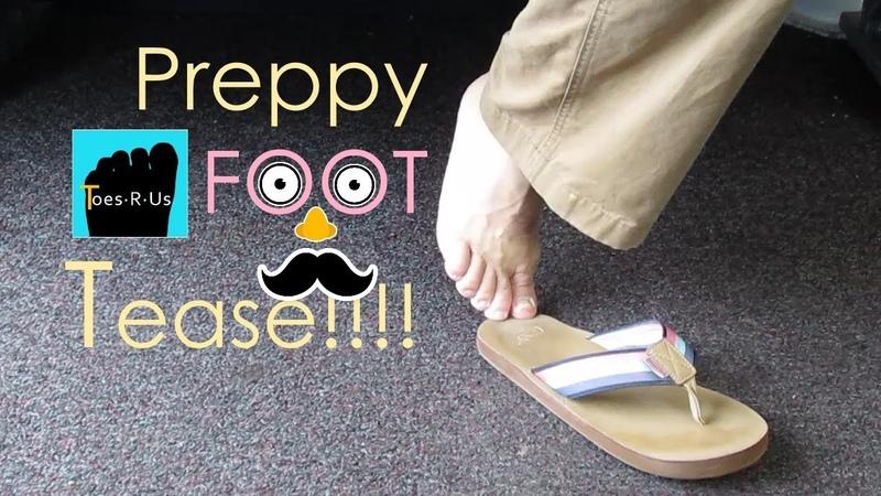 Preppy Flip Flops