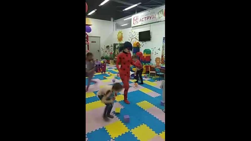 Леди Баг с веселой программой от агенства детских праздников Хамелеон