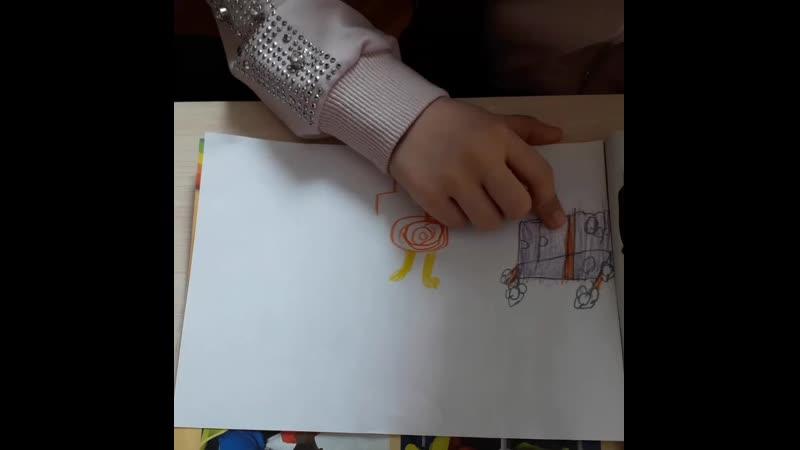 Описываем комнату своей мечты💖 с дошкольниками, изучают англ.яз. 6 месяцев