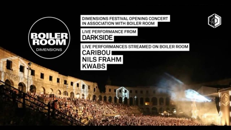 Darkside (Nico Jaar Dave Harrington) @ Boiler Room Dimensions Festival (27.08.2014)