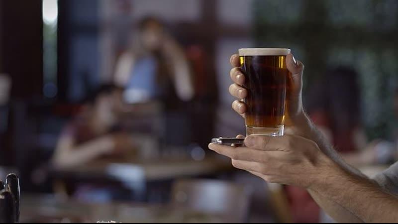 Умный пивной бокал