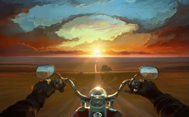 Land Of The Wind by Rhads (Painting to 3d)