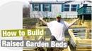 How to Build Galvanized Metal Raised Garden Beds