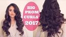 BIG BEAUTIFUL VOLUMINOUS CURLS PROM HAIR TUORIAL