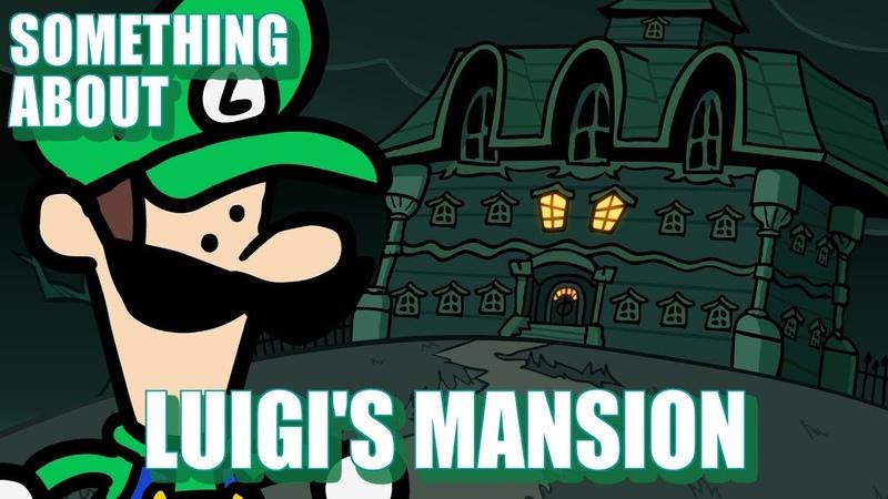 Something About Luigis Mansion ANIMATED 👻😱👻 (Loud SoundFlashing Lights Warning)