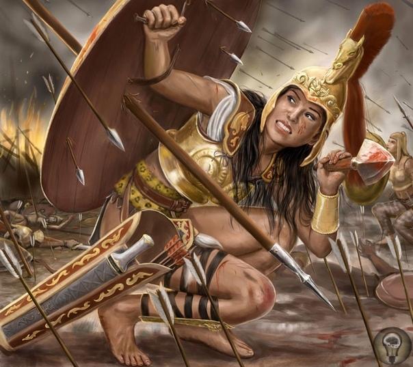 Женщины-воины: Амазонки
