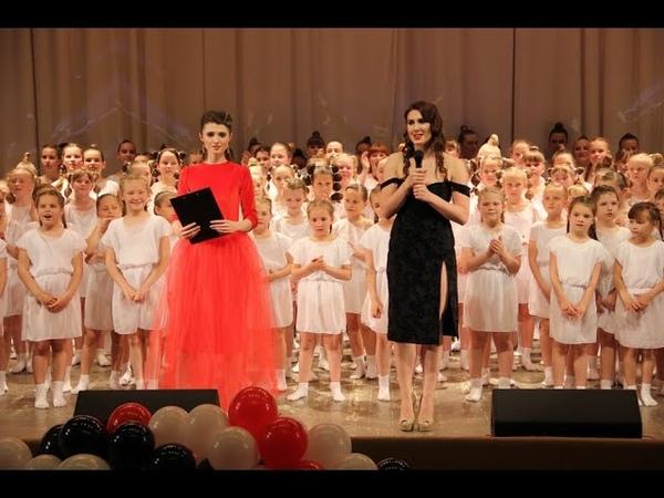 Отчетный концерт Стремление Школы танцев Grand Pas