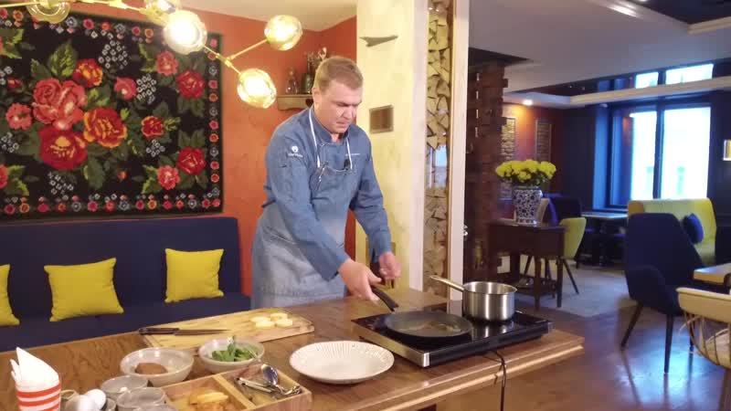 Завтрак с бренд-шефом ресторана Максимом Рыбаковым